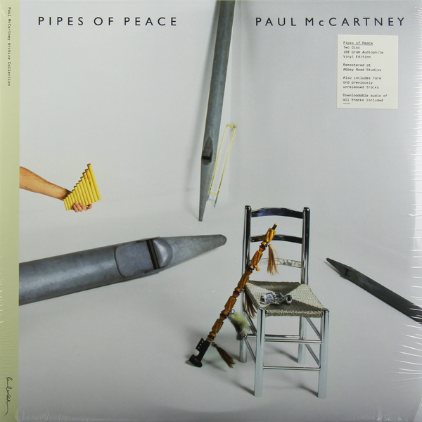 Paul Mccartney Paul Mccartney - Pipes Of Peace (2 LP) paul mccartney – flowers in the dirt 2 lp