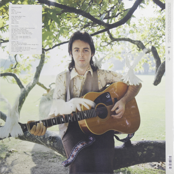 Paul Mccartney Paul Mccartney Wings - Wild Life (2 LP) paul mccartney – flowers in the dirt 2 lp
