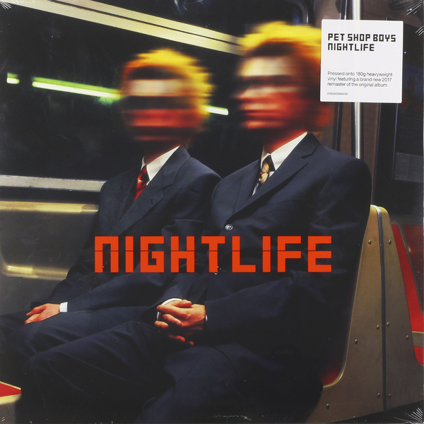 Pet Shop Boys Pet Shop Boys - Nightlife (180 Gr) pet shop boys pet shop boys yes 3 cd