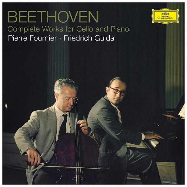 лучшая цена Beethoven BeethovenPierre Fournier Friedrich Gulda - : Complete Works For Cello And Piano (3 LP)