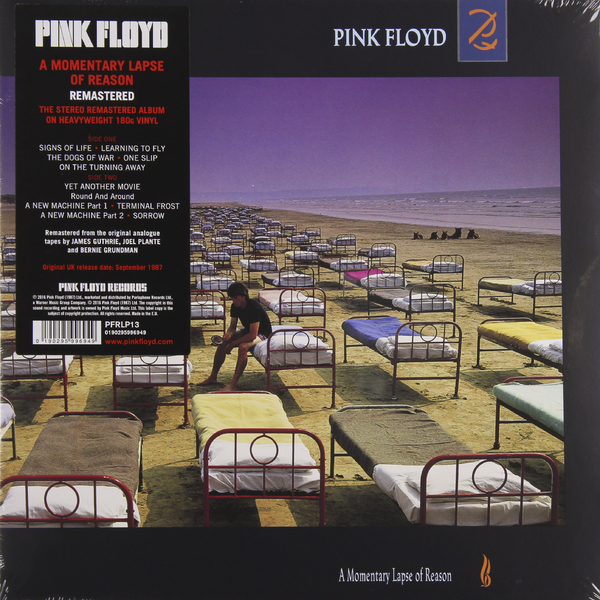 Pink Floyd - A Momentary Lapse Of Reason (180 Gr)