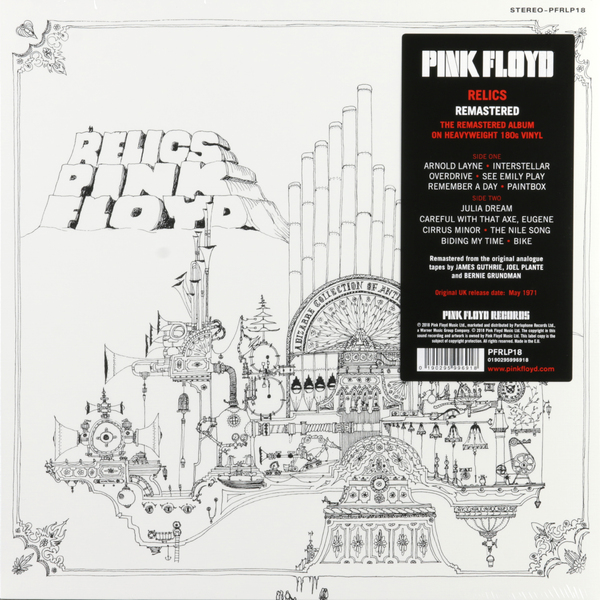 Pink Floyd Pink Floyd - Relics (180 Gr) зонт knirps floyd purple