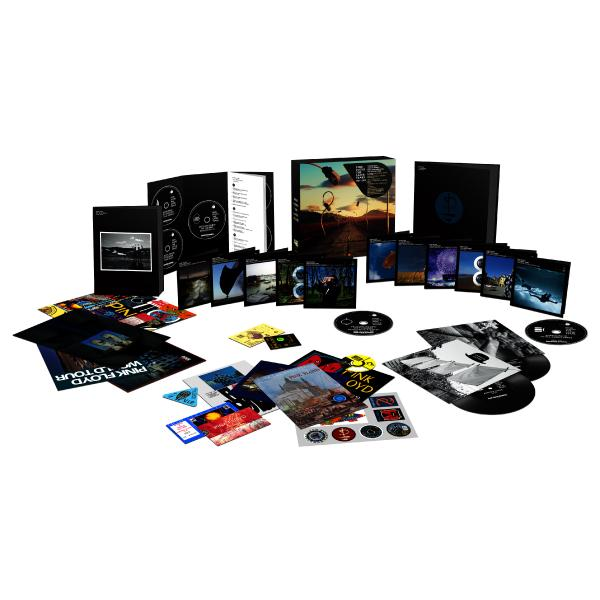 Pink Floyd - The Later Years 1987-2019 (5 Cd+6 Blu-ray+5 Dvd+2x7 )