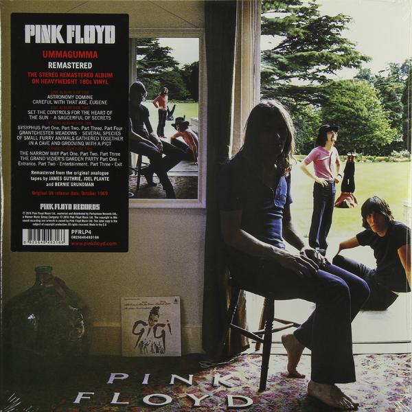лучшая цена Pink Floyd Pink Floyd - Ummagumma (2 Lp, 180 Gr)