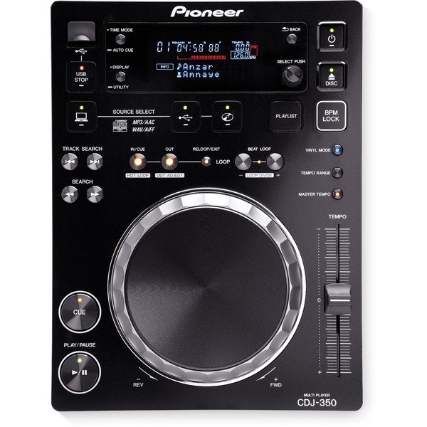 DJ CD проигрыватель Pioneer CDJ-350 Black