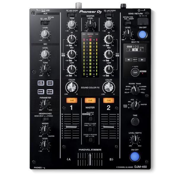 купить DJ микшерный пульт Pioneer DJM-450 онлайн