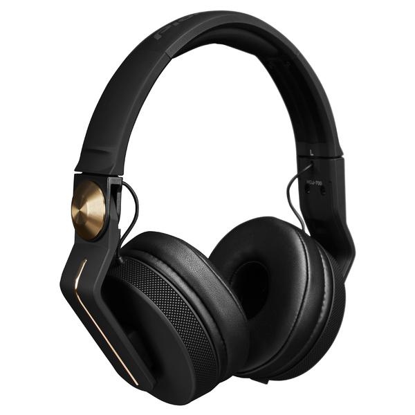 лучшая цена Охватывающие наушники Pioneer HDJ-700 Black/Gold