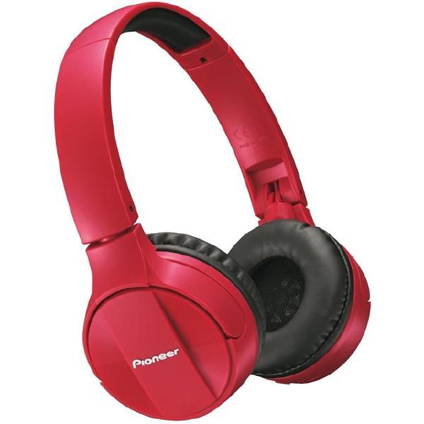 Беспроводные наушники Pioneer SE-MJ553BT Red цена и фото