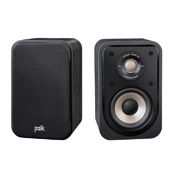 все цены на Полочная акустика Polk Audio S10 E Black онлайн
