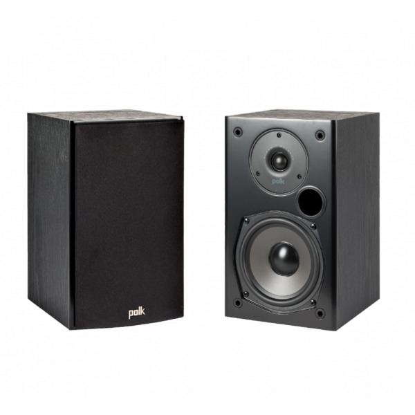 Полочная акустика Polk Audio T15 Black polk audio ultra fit 3000a black grn