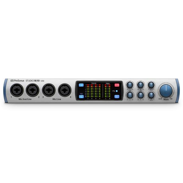 Внешняя студийная звуковая карта PreSonus Studio 1810 усилители для наушников presonus hp4