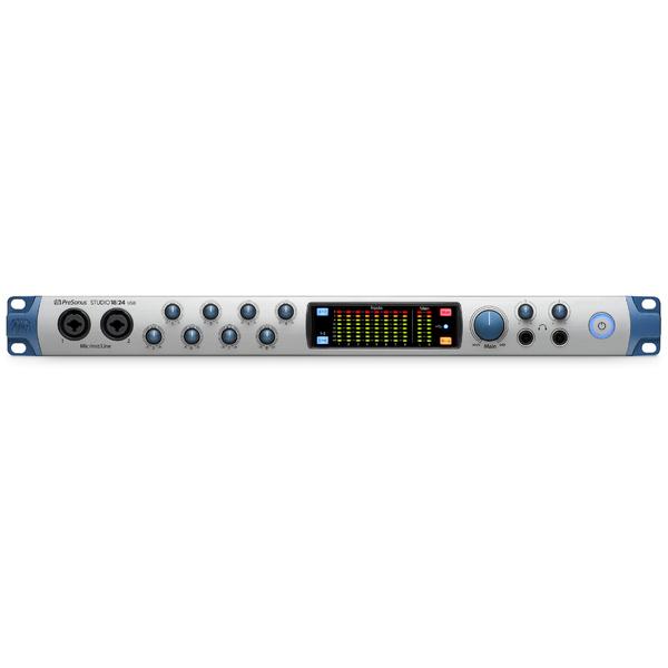 Внешняя студийная звуковая карта PreSonus Studio 1824 усилители для наушников presonus hp4