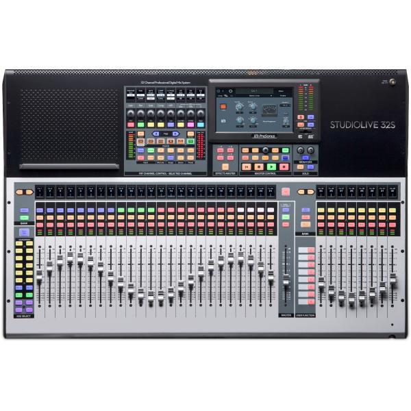 Цифровой микшерный пульт PreSonus StudioLive 32S цены онлайн