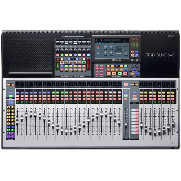 Цифровой микшерный пульт PreSonus StudioLive 64S цены онлайн