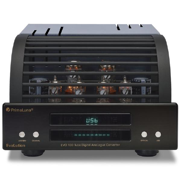 Внешний ЦАП PrimaLuna Evolution 100 DAC Black внешний цап audioquest beetle black