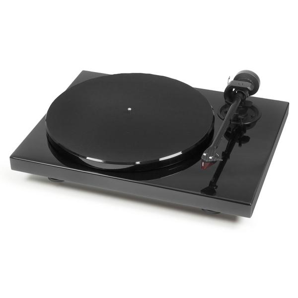 лучшая цена Виниловый проигрыватель Pro-Ject 1-Xpression Carbon Piano Black (2M Red)