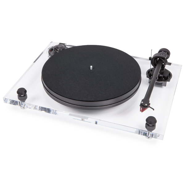 Виниловый проигрыватель Pro-Ject 2-Xperience Primary Clear (2M-Red)