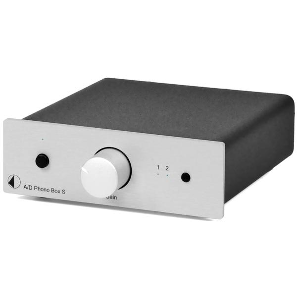 Фонокорректор Pro-Ject A/D Phono Box S Silver (уценённый товар) pro ject connect it phono 5p c 1 23 m
