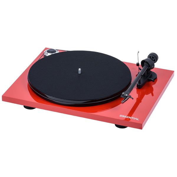 Виниловый проигрыватель Pro-Ject Essential III Phono Red (OM-10)