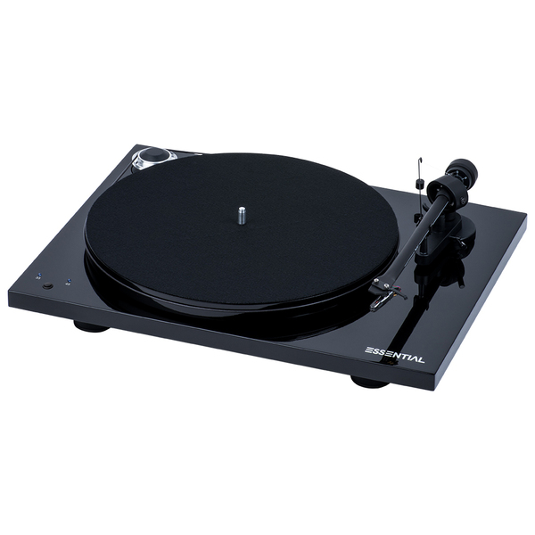 Виниловый проигрыватель Pro-Ject Essential III RecordMaster Piano Black (OM-10)