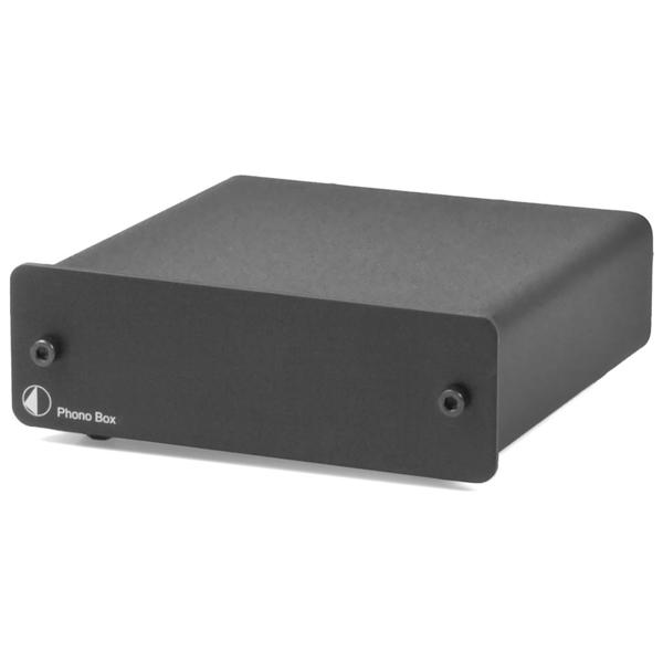 Фонокорректор Pro-Ject Phono Box DC Black фонокорректор pro ject mm mc phono box usb v silver
