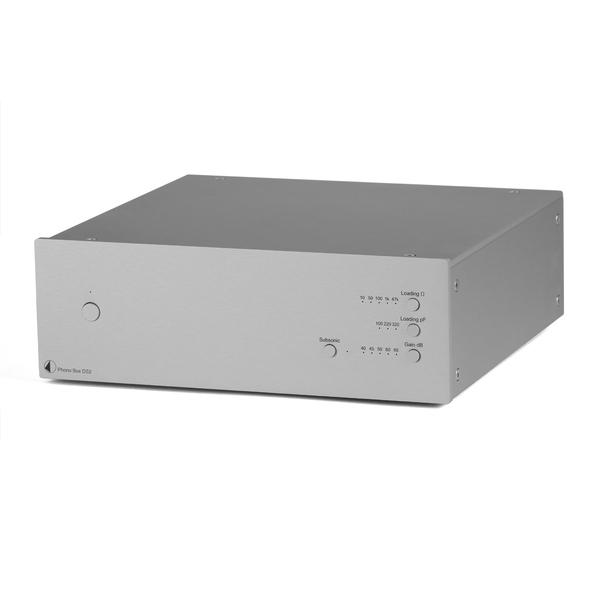 Фонокорректор Pro-Ject Phono Box DS2 Silver фонокорректор pro ject phono box e bt white