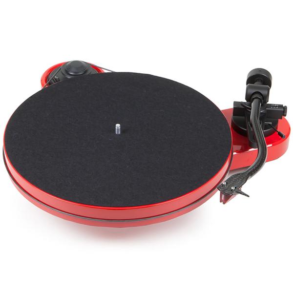 Виниловый проигрыватель Pro-Ject RPM 1 Carbon Red