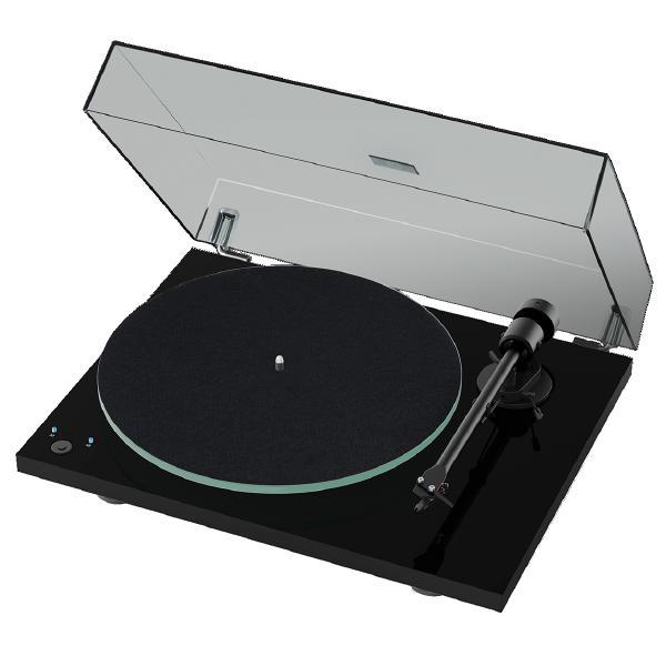 Виниловый проигрыватель Pro-Ject T1 Phono SB Piano Black (OM-5e)