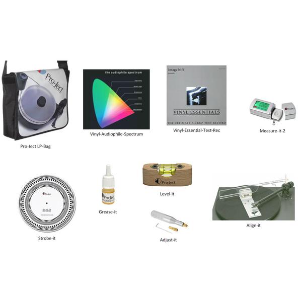 цена на Товар (аксессуар для винила) Pro-Ject Набор для настройки винила Turntable Adjustment Kit Professional