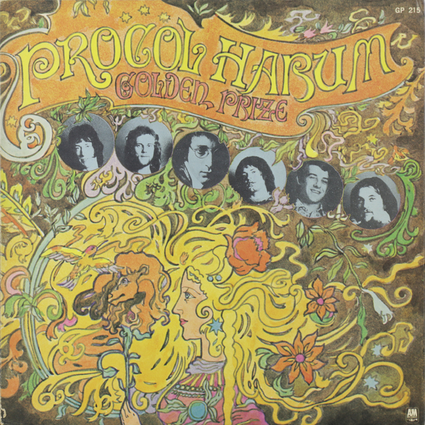 Procol Harum - Golden Prize (japan Original. 1st Press) (винтаж)
