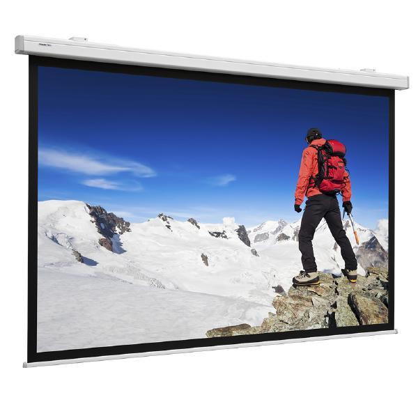 Фото - Экран для проектора Projecta Compact Electrol (16:9) 95 128x220 Matte White + доп. кайма [10600040] экран projecta homescreen 151х256см 106 139х240см видимый р р matte white 16 9