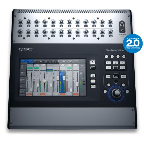 Цифровой микшерный пульт QSC TouchMix-30 Pro qsc ps 1650g