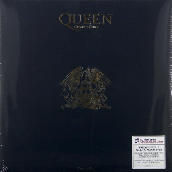QUEEN QUEEN - Greatest Hits Ii (2 LP) female vocal club hits 2 cd
