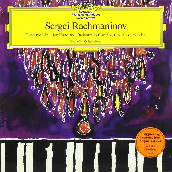 Rachmaninov RachmaninovSviatoslav Richter - : Piano Concerto No.2; 6 Preludes (180 Gr)