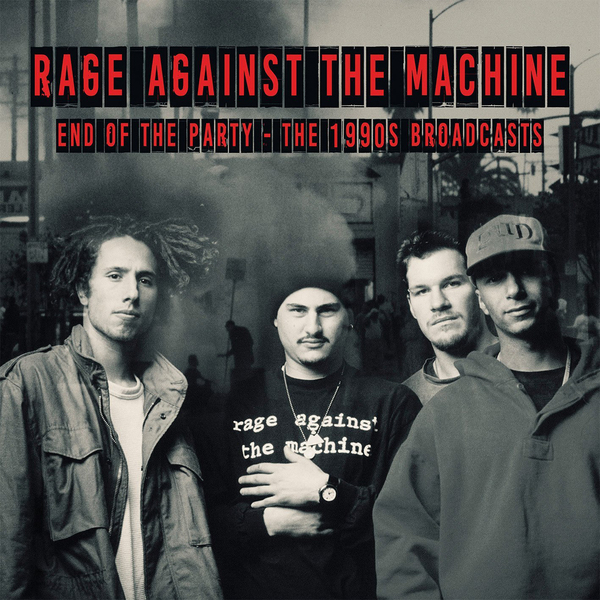 Rage Against The Machine - End Of Party 1990s Broadcasts (2 LP)