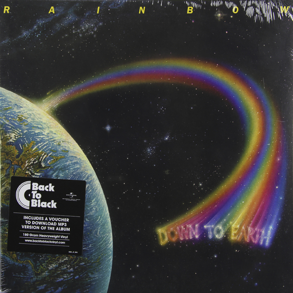 лучшая цена Rainbow Rainbow - Down To Earth (180 Gr)