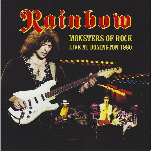 Rainbow Rainbow - Monsters Of Rock - Live At Donington 1980 (2 Lp+cd) rainbow rainbow long live rock