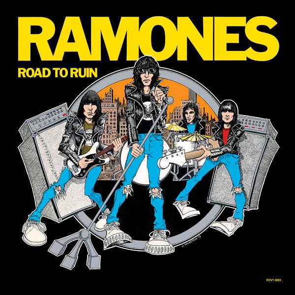 Ramones Ramones - Road To Ruin (colour) ramones