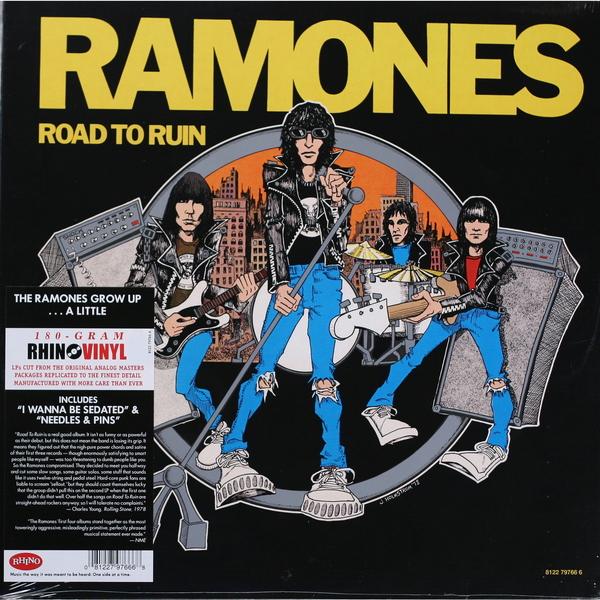 Ramones Ramones - Road To Ruin (180 Gr) цена