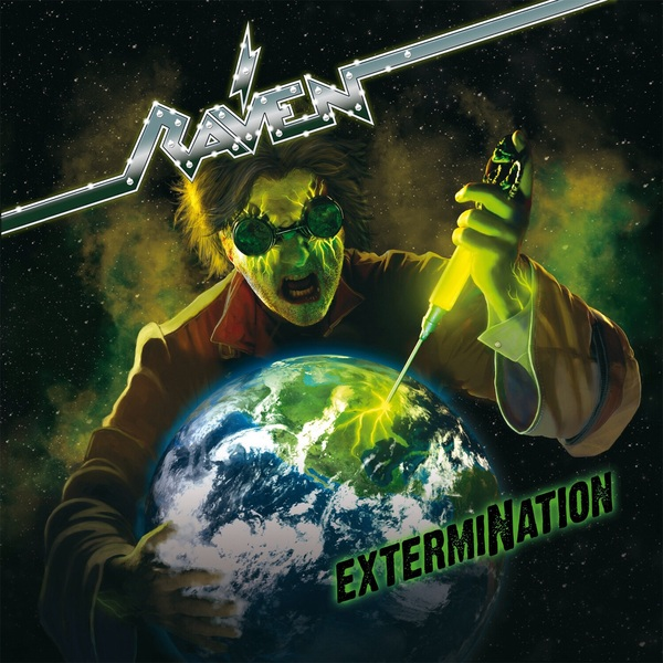 RAVEN RAVEN - Extermination (2 LP) running with raven