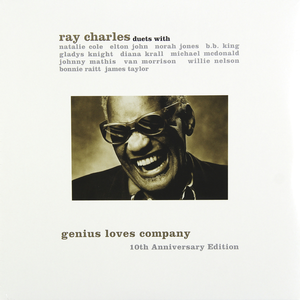 Ray Charles Ray Charles - Genius Loves Company. 10th Anniversary Edition (2 LP)