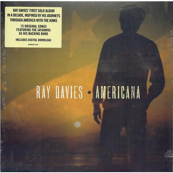 Фото - Ray Davies Ray Davies - Americana (2 LP) coroner coroner autopsy lp 3 blu ray