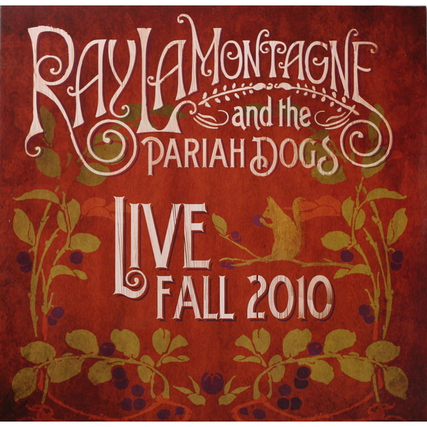Ray Lamontagne Ray Lamontagne And The Pariah Dogs - Live - Fall 2010 dvd blu ray