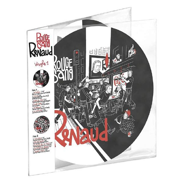 Renaud - Rouge Sang (2 Lp, Picture)