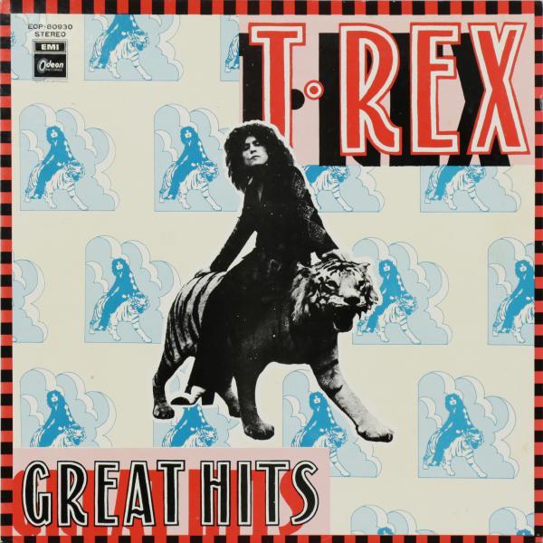 T. Rex - Great Hits (japan Original. 1st Press) (винтаж)