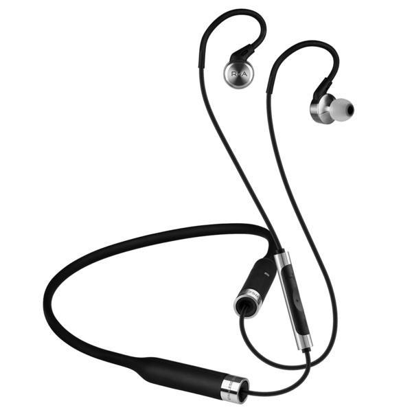 Беспроводные наушники RHA MA750 Wireless Black/Silver