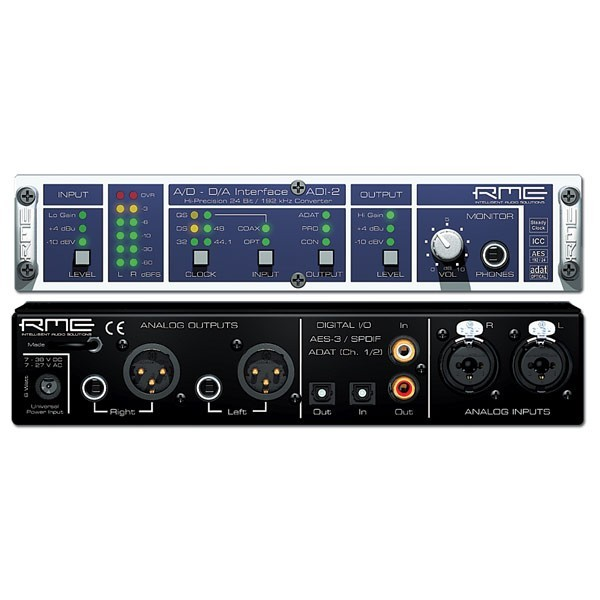 Контроллер/Аудиопроцессор RME Аудиоконвертер ADI-2