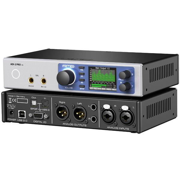 Контроллер/Аудиопроцессор RME Аудиоконвертер ADI-2 PRO FS Silver