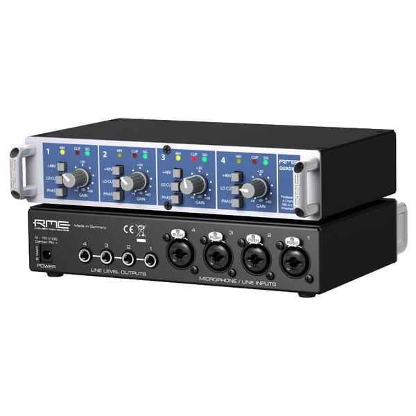 Микрофонный предусилитель RME QuadMic II