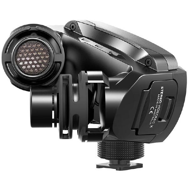Микрофон для радио и видеосъёмок RODE Stereo VideoMic X
